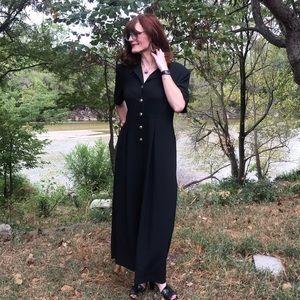 Vintage Sunshine Starshine Black Jumpsuit